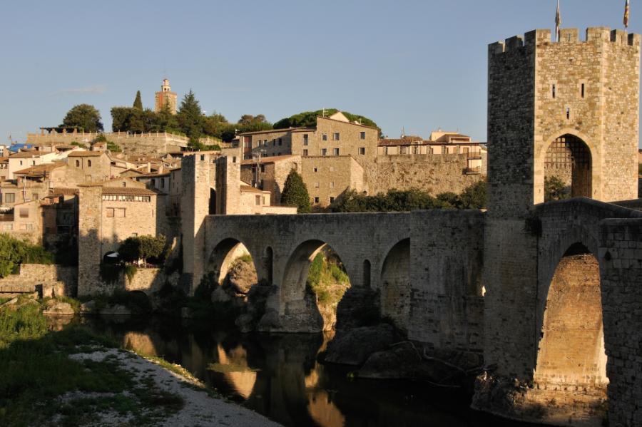 cataluña, pueblos medievales