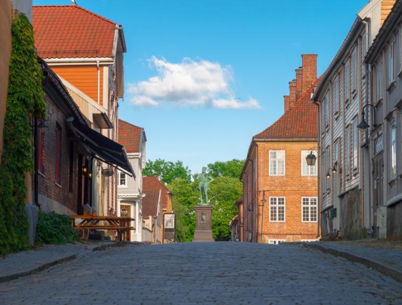 noruega, fredistak, pueblos medievales