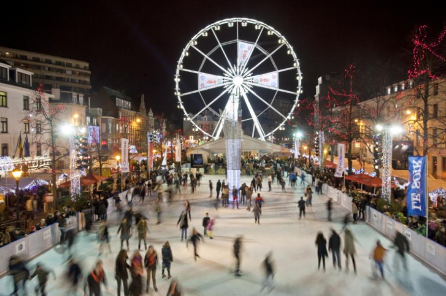 Mercados de Navidad de Bruselas