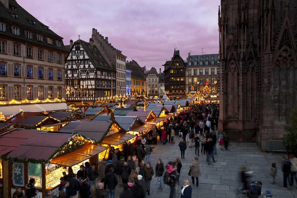 Mercados de Navidad Estrasburgo