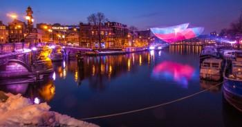 Festival de la Luz en Amsterdam