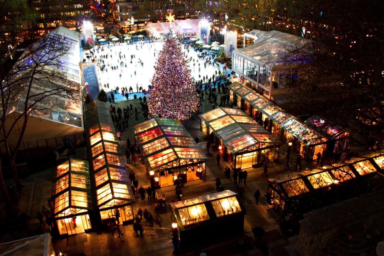 Mercados de Navidad Nueva York